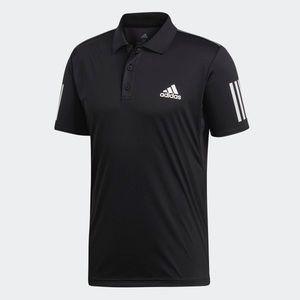Adidas Men's Club 3 Stripes Polo